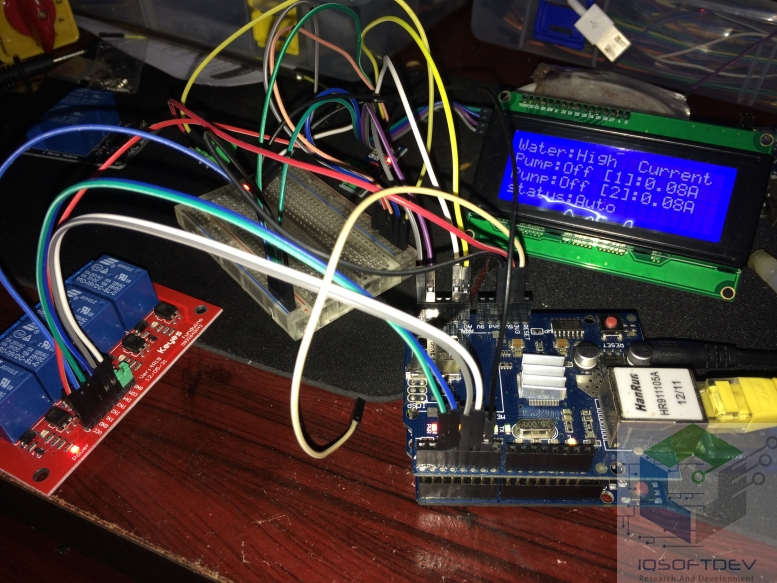 Arduino Ethernet VB2010 C Android Control  and View data via MSSQL